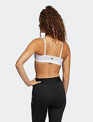adidas Performance - Nini Sum Graphic AM Bra W - sport bras: low support - white - 3