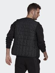 adidas Performance - Itavic 3-Stripes Light Vest - friluftsjackor - black - 3