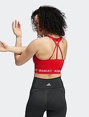 adidas Performance - Aeroknit Low Support Sports Bra W - sport bras: low support - vivred - 3