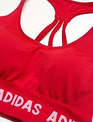 adidas Performance - Aeroknit Low Support Sports Bra W - sport bras: low support - vivred - 4