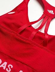 adidas Performance - Aeroknit Low Support Sports Bra W - sport bras: low support - vivred - 5