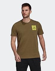 adidas Performance - Terrex Patch Mountain Graphic Tee - t-shirts - focoli - 0