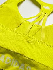 adidas Performance - Training Aeroknit Bra W (Plus Size) - sportbeh''s: low - aciyel - 4