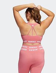 adidas Performance - Training Aeroknit Bra W (Plus Size) - urheiluliivit: matala tuki - hazros - 3