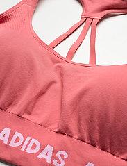 adidas Performance - Training Aeroknit Bra W (Plus Size) - sportbeh''s: low - hazros - 5