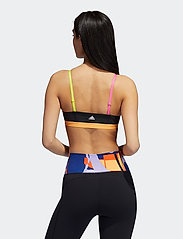 adidas Performance - Love Unites 3-Stripes Graphic Low Support Sports Bra W - sport bras: low support - black - 3