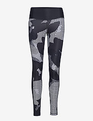 adidas Performance - BT HR Macr AI - running & training tights - black/print - 0