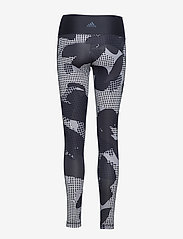adidas Performance - BT HR Macr AI - running & training tights - black/print - 3