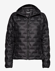 adidas Performance - W Light Down Ho - outdoor & rain jackets - black - 0