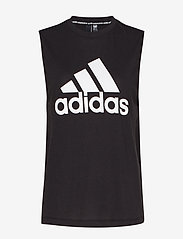adidas Performance - W MH BOS TANK - topjes - black/white - 1