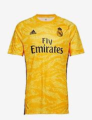 adidas Performance - REAL H GK JSY - football shirts - cogold - 1