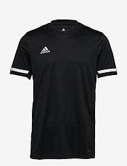 adidas Performance - Team 19 Short Sleeve Jersey - football shirts - black/white - 0