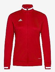 adidas Performance - Team 19 Track Jacket W - sweatshirts - powred/white - 0