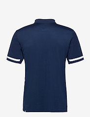adidas Performance - Team 19 Polo Shirt - oberteile & t-shirts - navblu/white - 1