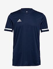 adidas Performance - Team 19 Short Sleeve Jersey - football shirts - navy - 0