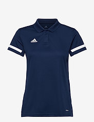 adidas Performance - Team 19 Polo Shirt W - voetbalshirts - navblu/white - 0