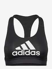 adidas Performance - DTR BOS NOV BRA - sport bras: medium - black - 1