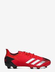 adidas Performance - PREDATOR 20.2 FG - jalkapallokengät - actred/ftwwht/cblack - 1