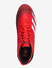 adidas Performance - PREDATOR 20.2 FG - jalkapallokengät - actred/ftwwht/cblack - 3