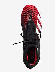 adidas Performance - PREDATOR 20.3 FG - fodboldsko - cblack/ftwwht/actred - 3