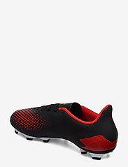 adidas Performance - PREDATOR 20.4 FxG - jalkapallokengät - cblack/actred/ftwwht - 2