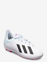 adidas Performance - X 19.4 FxG J - buty piłkarskie - ftwwht/cblack/shopnk - 0