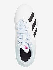 adidas Performance - X 19.4 FxG J - buty piłkarskie - ftwwht/cblack/shopnk - 3