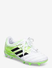 adidas Performance - COPA 20.3 FG J - buty sportowe - ftwwht/cblack/siggnr - 0