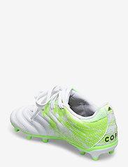 adidas Performance - COPA 20.3 FG J - buty sportowe - ftwwht/cblack/siggnr - 2
