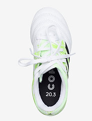 adidas Performance - COPA 20.3 FG J - buty sportowe - ftwwht/cblack/siggnr - 3
