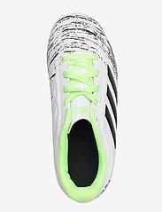 adidas Performance - COPA 20.4 FG J - buty sportowe - ftwwht/cblack/siggnr - 3