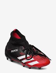 adidas Performance - PREDATOR 20.3 FG J - buty piłkarskie - cblack/ftwwht/cblack - 0