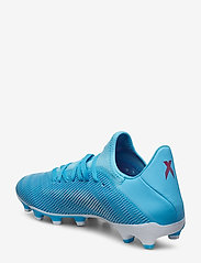 adidas Performance - X 19.3 MG - jalkapallokengät - brcyan/cblack/shopnk - 2