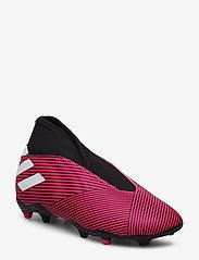 adidas Performance - NEMEZIZ 19.3 LL FG J - buty piłkarskie - shopnk/ftwwht/cblack - 0