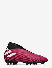 adidas Performance - NEMEZIZ 19.3 LL FG J - buty piłkarskie - shopnk/ftwwht/cblack - 1