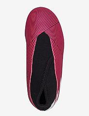 adidas Performance - NEMEZIZ 19.3 LL FG J - buty piłkarskie - shopnk/ftwwht/cblack - 3