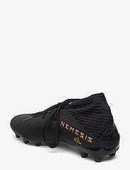 adidas Performance - NEMEZIZ 19.3 MG - jalkapallokengät - cblack/cblack/utiblk - 2