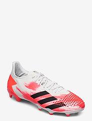 adidas Performance - PREDATOR 20.2 FG - fotballsko - ftwwht/cblack/pop - 0