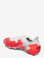 adidas Performance - PREDATOR 20.2 FG - fotballsko - ftwwht/cblack/pop - 2