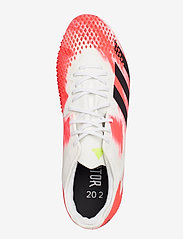 adidas Performance - PREDATOR 20.2 FG - fotballsko - ftwwht/cblack/pop - 3