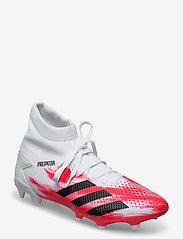adidas Performance - PREDATOR 20.3 FG - fotbollsskor - ftwwht/cblack/pop - 0