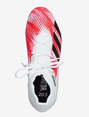 adidas Performance - PREDATOR 20.3 FG - fotbollsskor - ftwwht/cblack/pop - 3