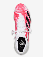 adidas Performance - PREDATOR 20.3 TF - fodboldsko - ftwwht/cblack/pop - 3