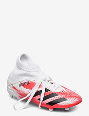 adidas Performance - PREDATOR 20.3 FG J - buty piłkarskie - ftwwht/cblack/pop - 0