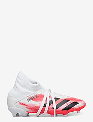 adidas Performance - PREDATOR 20.3 FG J - buty sportowe - ftwwht/cblack/pop - 1