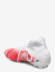 adidas Performance - PREDATOR 20.3 FG J - buty piłkarskie - ftwwht/cblack/pop - 2