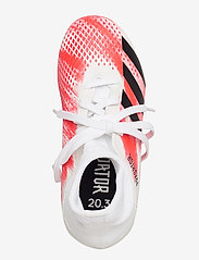 adidas Performance - PREDATOR 20.3 FG J - buty piłkarskie - ftwwht/cblack/pop - 3