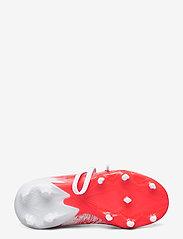 adidas Performance - PREDATOR 20.3 FG J - buty sportowe - ftwwht/cblack/pop - 4