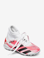 adidas Performance - PREDATOR 20.3 TF J - buty piłkarskie - ftwwht/cblack/pop - 0