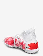 adidas Performance - PREDATOR 20.3 TF J - buty piłkarskie - ftwwht/cblack/pop - 2